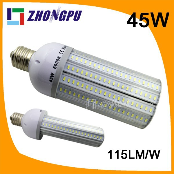 led bulb 45w180degree E27 E40 E39 Waterproof 277v 2d led replacement lamp
