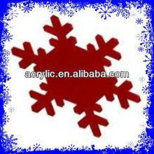 2014promotional hanging colored acrylic christmas decor
