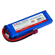 Rc plane fpv drone power 3S 11.1v 3000mah Pure 30C lithium polymer battery