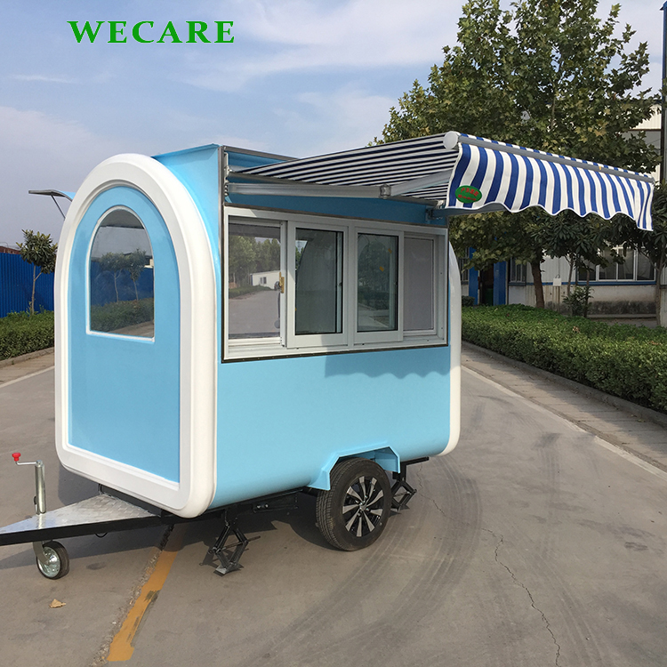 New style smart food vending carts