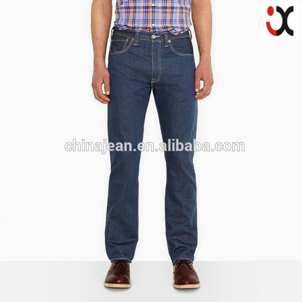 2015 designer jeans wholesale for men regular straight jeans (JXW514)