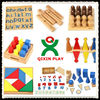 China montessori arabic material/montessori teaching material/cheap wood montessori toys QX-177D