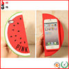 Watermelon Shaped Silicon Rubber Mobile Phone Case /Harness /Bag /Protective Sleeve /Jacket