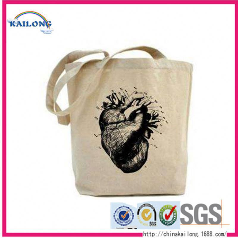 High Quality Thin Wholesale Cotton Canvas Bag
