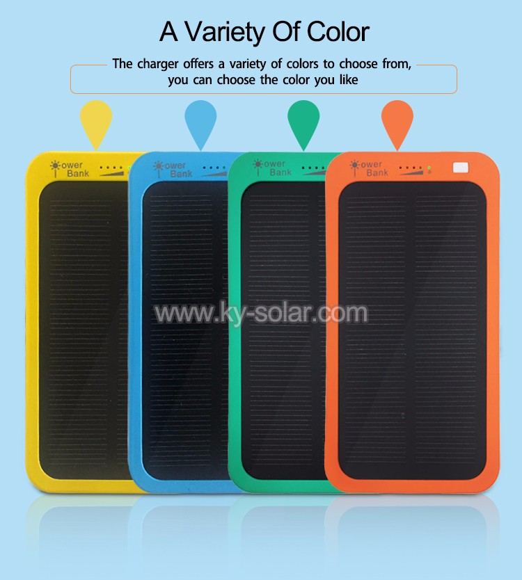 portable charger solar mini power bank advanced