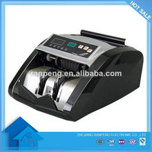 Super life high accuracy UV counterfeit detection banknote counter currency counter
