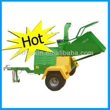 Yanmar diesel wood chipper with CE certificate