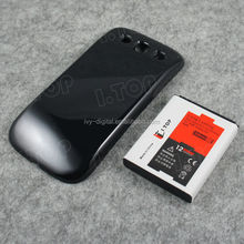 Dry rechargeable extended battery for Samsung S3