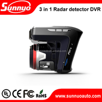 new 360 laser+full band car speeding radar detector scanning early warning system with display screenor