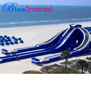 inflatable sea water park giant inflatable water slide for adult