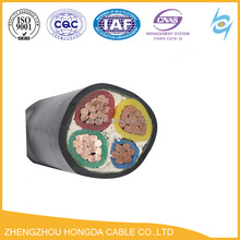 YJV power cable XLPE insualted pvc jacket copper YJV cable