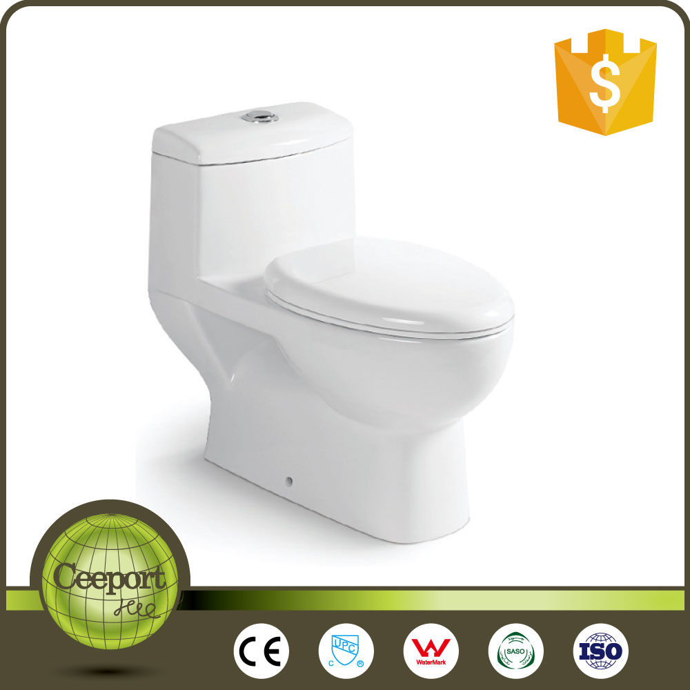C-61 auto flush toilet seat body cleaning toilet upc toliet toilet with colour