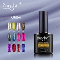 Free Sample Wholesale Special Color Gel Glitter Gel Nail Polish