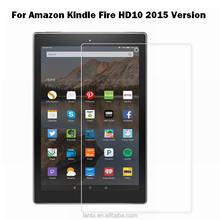Tablets pc 10 HD tempered glass screen protector for Amazon Kindle Fire 2015 HD 10 inch tablet glass screen protector