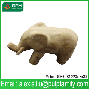 Home Decoration Use Elephant Gifts Crafts Paper Toy in stocks