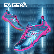 EAGEKA brand 2018 new arrived high quality professional badminton SPORT SHOES , INDOOR SHOES