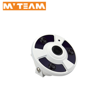 360 degree view Dome metal camera fish-eye ip camera 1.3 mega pixel HD 960P