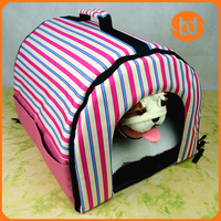 Korea velvet, corduroy Pet Cat Dog Kennel Nest Tent Dog Bed Pet House for Cats