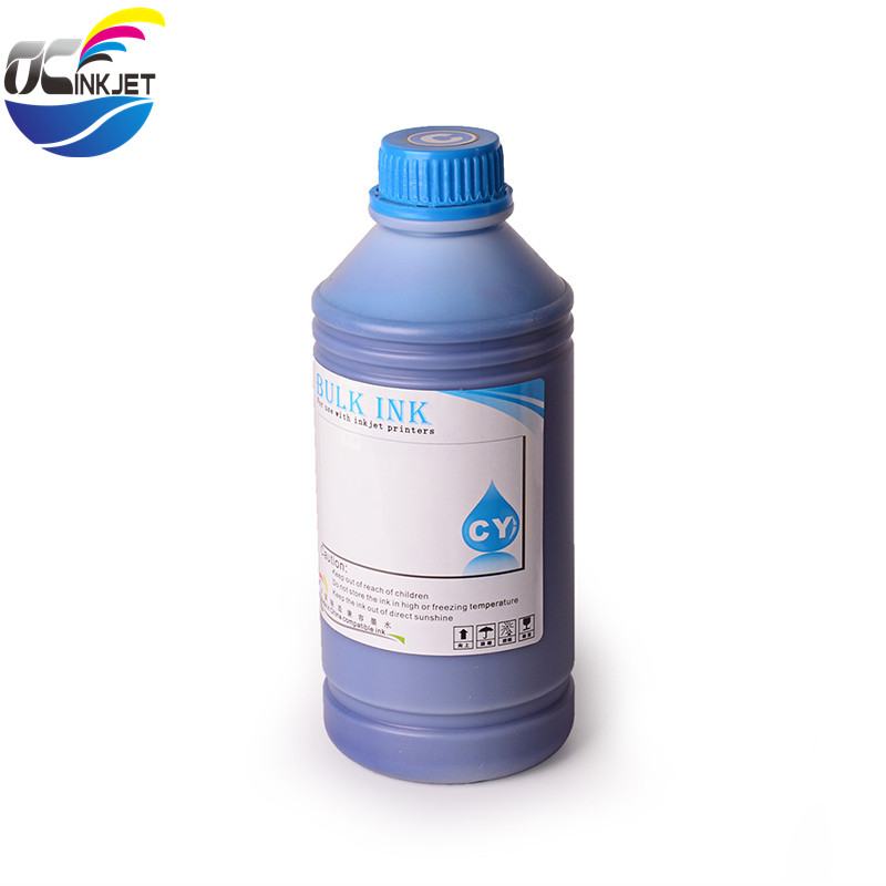 Ocinkjet 1000ML 4 Colors Genuine High Quality Pigment Ink For HP DJ 1000 1050