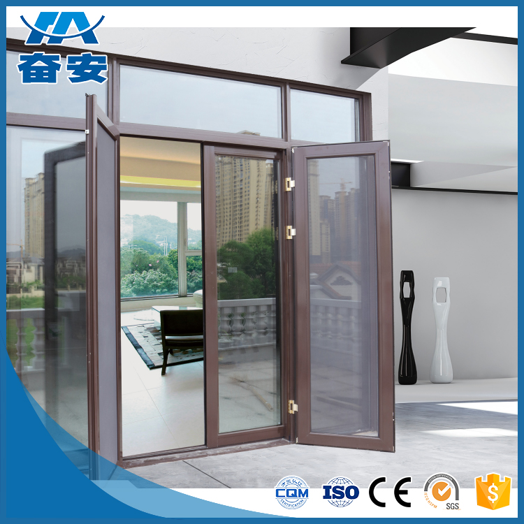 China superior aluminum frame glass window and doors