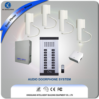 Multi Family Houses Auto Door Phone System