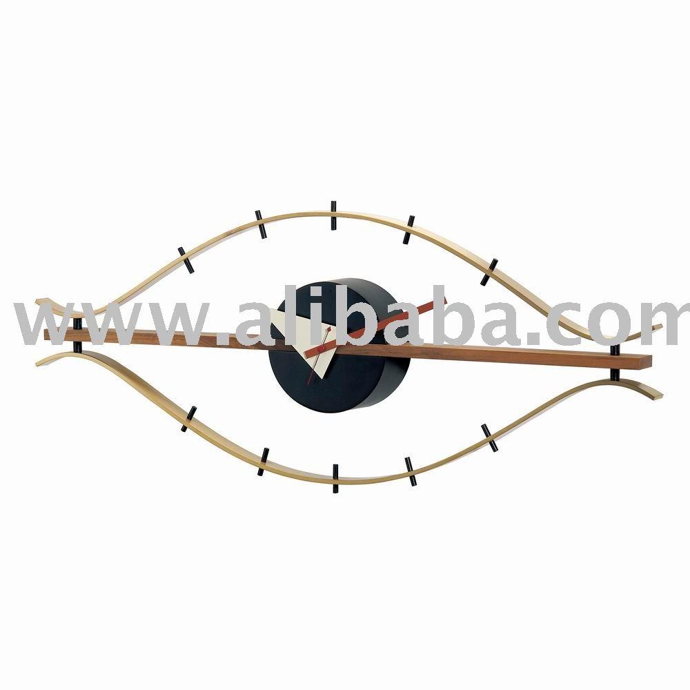 george nelson classique horloge de l 39 oeil horloge murale id de produit 112995660. Black Bedroom Furniture Sets. Home Design Ideas
