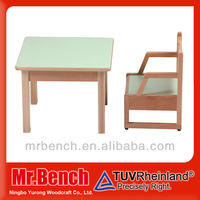Solid beech wood Baby table