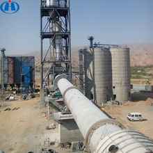 China Top Mini Sale Lime Rotary Kiln Equipment List Clinker Grinding Small Scale Cement Plant