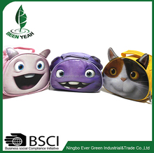 3D Cute Animal Kids Storage Travel Handbag, Cheap Cartoon Shcool Lunch Bag