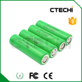 10A high drain Rechargeable Battery 18650 MJ1 3.6V 3500mAh lithium ion cell