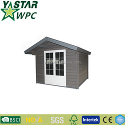 High Quality WPC Waterproof Garden Shed