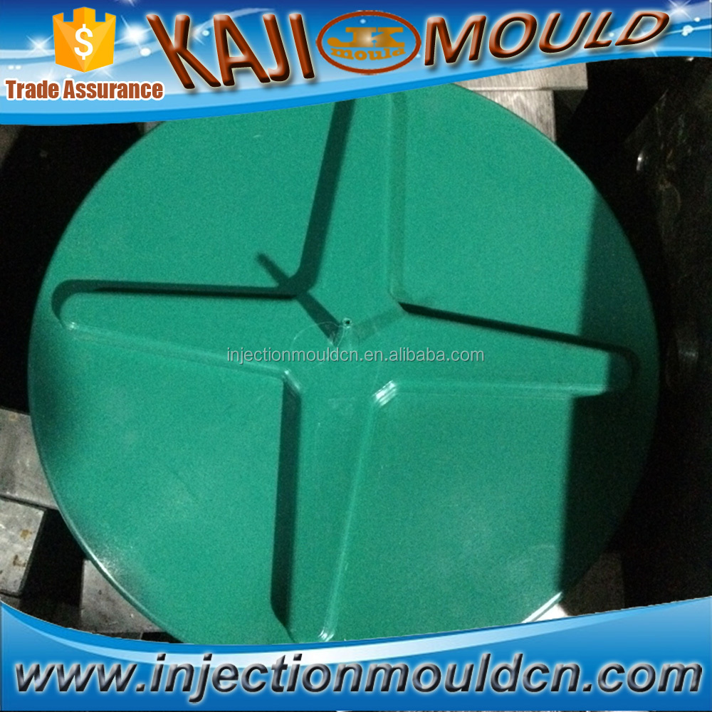 full automatic 3 plate oil tank cover mould