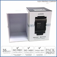 Custom Rigid Paper Boxes for smart watch
