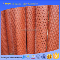 Professional manufacture plastic coated expanded metal mesh