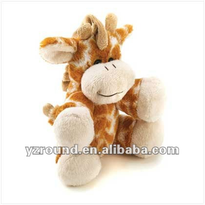 Quality giraffe cub jungle playmates plush toy