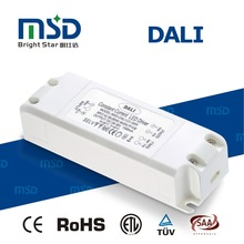 Shenzhen factory dali dimmer driver consatnt current 45w 1000ma 1200ma 1500ma led transformer