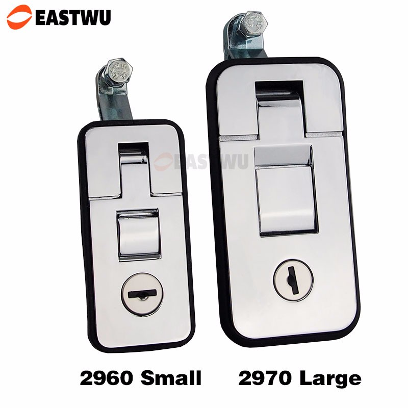 2960 LOCKING PUSH RV Caravan LATCH Vending Machine Lock Truck bus Tool Cabinet Kit Lock