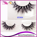 Popular style #2038X Luxury Mink hair strip eyelash
