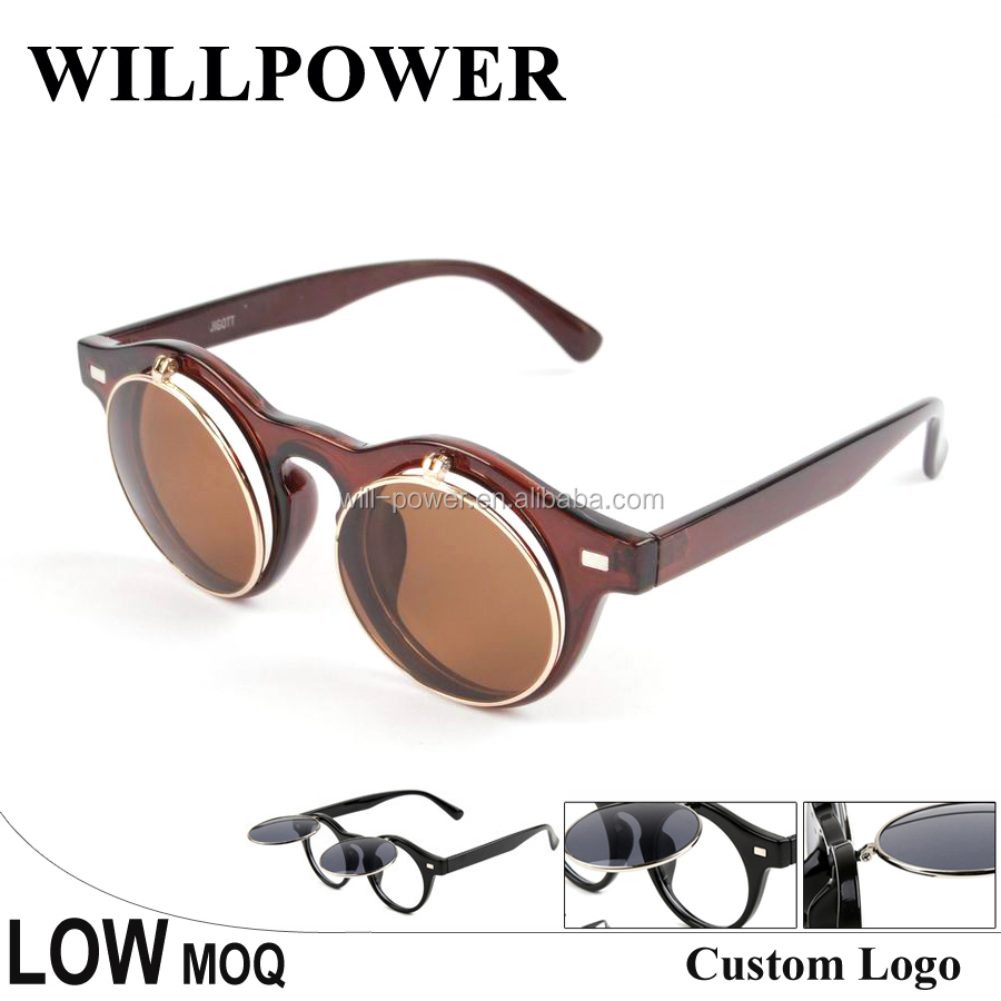 2015 Flip up Sunglasses with metal hinge