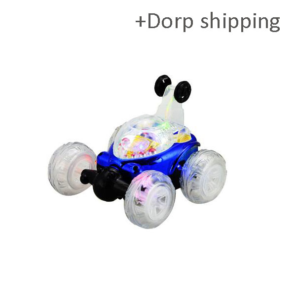 4CH stunt rolling new rc stunt car with music and light with drop shipping service-skype: colsales09
