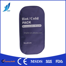 Hot and cold gel pack Multiple therapy solution for headache, toothache, fever