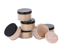 wholesale 6 colors matifying mineral foundation face makeup loose powder private label 6 colors loose powder