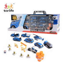 New products policemen front design model cars diecast toy for children