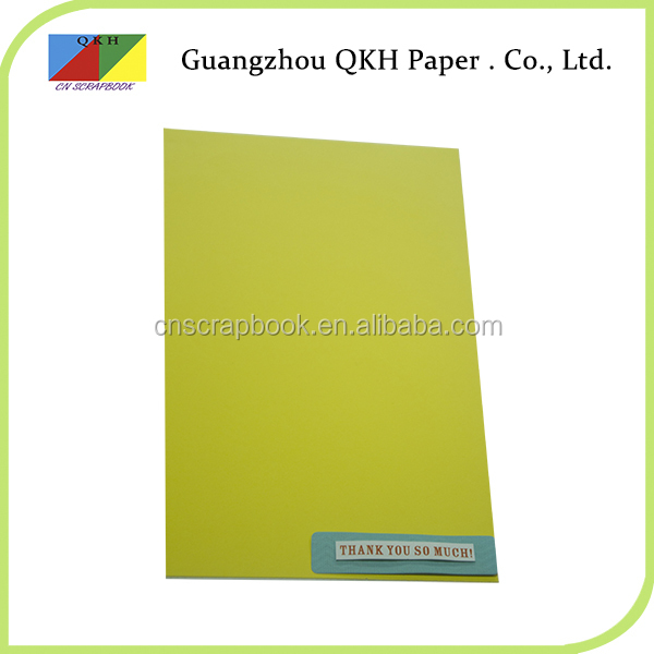 Multi-color Christmas paper a4 size color leather grain paper