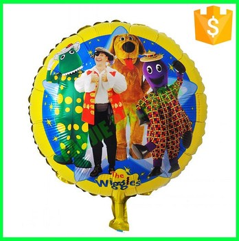 Customized Printed Balloons,18 inches Round foil Balloons