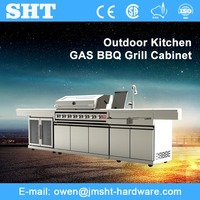 Guangdong Factory Price Pictures Of Modern Modular Outdoor Kitchen