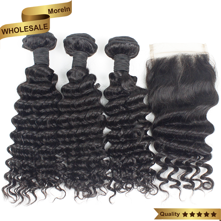 Alibaba <strong>express</strong> Human Hair Online Indian Hair Raw Unprocessed Virgin wave 4*4 Closure with Bundles