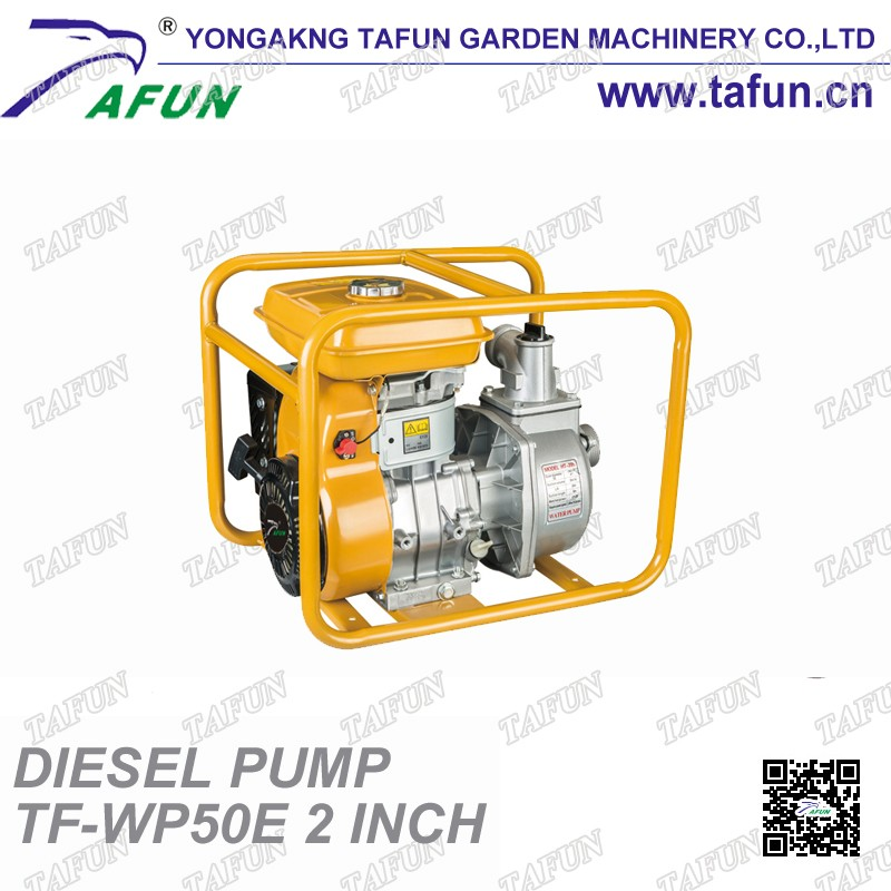 Factory sale portable gasoline water pump remote control