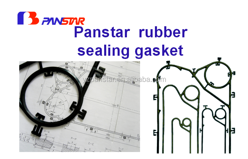 Heat exchanger cold and heat resistant gasket material supplier