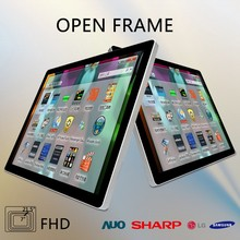 low price 21.5 inch smart tft metal resistive hmi open frame monitors